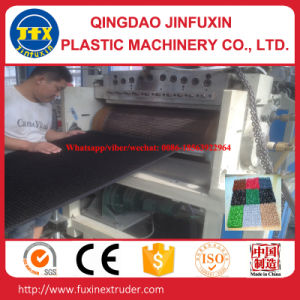 Plastic Flooring Mat Making Machine pictures & photos