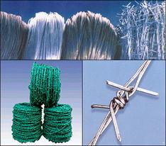 Potect Material Iron Fence Wire Bulk Galvanized Barbed Wire Made in China pictures & photos