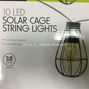 Solar LED Garden Vintage Cage Decorative Lamp (RS1007) pictures & photos