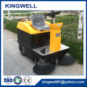 Electric Street Road Sweeper for Cleaning Road (KW-1050) pictures & photos