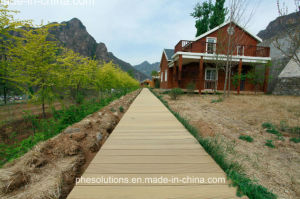 Rustic Refined Ultra-Resilient Outdoor Wood Plastic Board for Yard