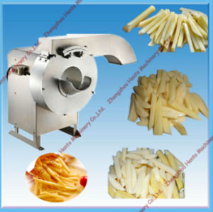 High Quality Automatic Electric Potato Cutting Machine pictures & photos