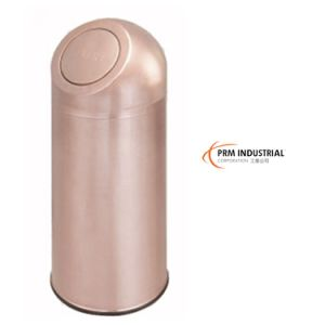 Rose Gold Vacuum Plating Stainless Steel Flip Indoor Bins & Garbage Can pictures & photos
