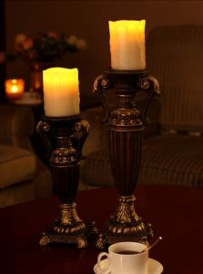 Antique Candle Holder/Resin Candle Stick Holder/Decoration Candle Stand/Candle Holder