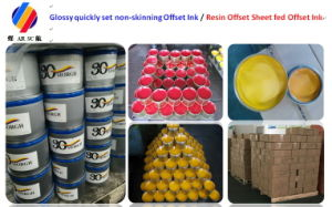 Glossy Quickly Set Offset Printing Ink pictures & photos