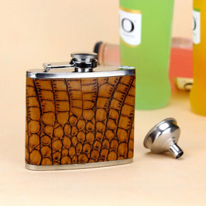 5 Ounce Food Grade Stainless Steel Hip Flask pictures & photos