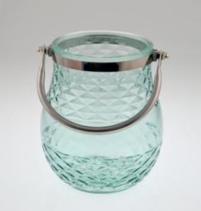 New Design Glass Candle Holder for Spring pictures & photos
