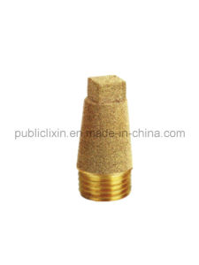 Airtac High Quality Brass Silencer V Type Muffler Brass Fitting pictures & photos