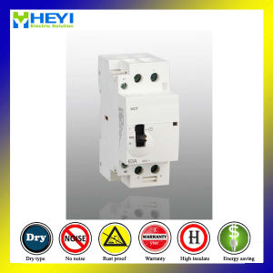 Household Magnetic Contactor 2p 63A 240V 50Hz 2nc Electricmachinical Type pictures & photos