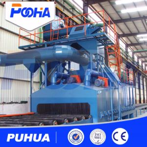 Steel Plate Roller Conveyor Shot Blasting Machine (Q69) pictures & photos