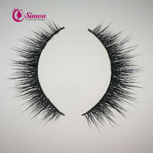 Reuseful Natural Short Mink Lashes Cosmetics for Makeup Artist pictures & photos