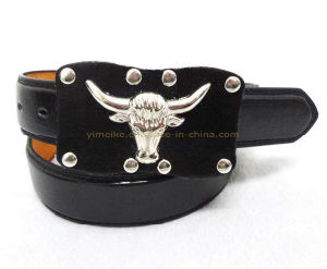 Classical Bull Design Men′s Garments Belt (MB461) pictures & photos