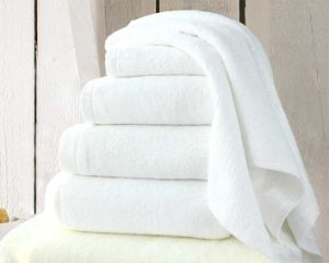 100% Cotton Hotel White Towel Sets