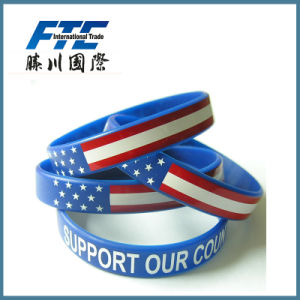 Rubber Silicone Wristband for Promotion pictures & photos