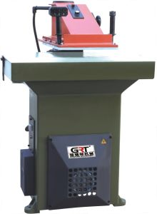 Leather Cutting Swing Arm Cutting Machine pictures & photos