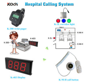 Patient Nurse Call System Wireleee Nurse Call Light Equipment pictures & photos