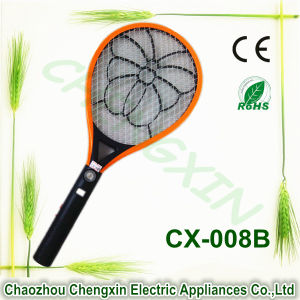 High Quality Electric Shock Device Mosquito Bat Killer Racket pictures & photos