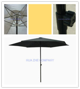 Hz-Um152 10ft (3m) Push up Umbrella Crank Umbrella with Tilt Outdoor Parasol Garden Umbrella Patio Umbrella pictures & photos