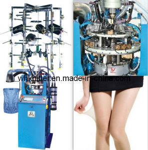 Weihuan (WH) Wh-12 Automatic Stocking Machine for Knitting Plain Silk Stocking pictures & photos