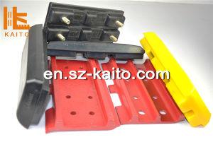 Excavator PU Track Pad, PU Track Shoe, Polyurethane Track Pads pictures & photos