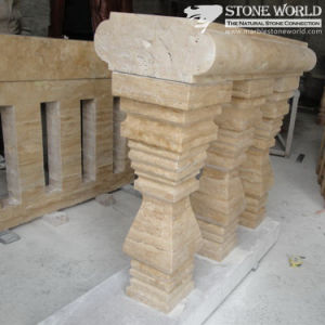 Sandstone Carving Banister Raillings for Indoor Decoration (CV035) pictures & photos