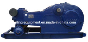 F-1000 Triplex Single Action Mud Pump