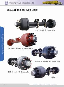 English Type Axle York Axle with Jap Stud pictures & photos
