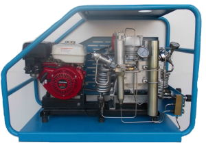 High Pressure Compressor with 265L/Min 30MPa, Gasoline pictures & photos