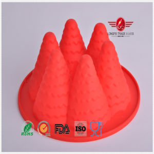Fashion High Grade Silicone Cameo Cake Mould pictures & photos