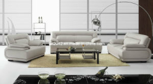 Living Room Simple Design High Quality Genuine Leather Sofa 1+2+3 (SBO-3929B) pictures & photos
