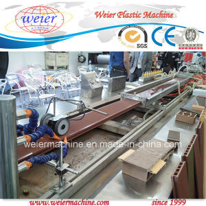 WPC Decking Board Two Layers Co-Extrusion Line pictures & photos