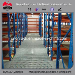 Warehouse Storage Metal Decking Rack Mezzanine Floor pictures & photos