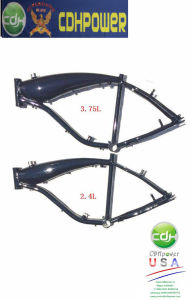 Bicycle Frame Aluminum, 3.75L Gas Tank Built Frame for Sales pictures & photos