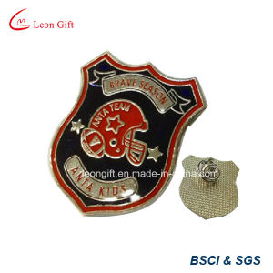 Enamel Fill Brass Badge Pin pictures & photos