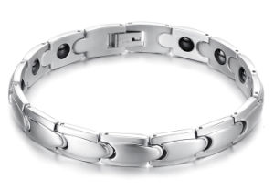Color Carbon Fiber Stainless Steel Health Care Energy Bracelet pictures & photos