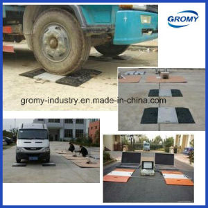 Electronic Portable Vehicle Weighing Scale Axle Scale pictures & photos