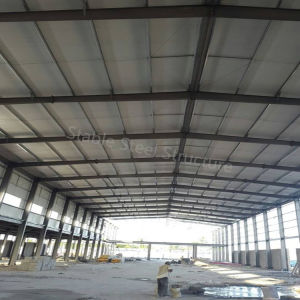 Factory Manufacturer Steel Structure Workshop with Corrugated Roofing Sheets pictures & photos
