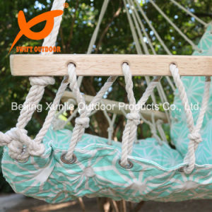 Portable High Strength Cotton Outdoor Garden Indoor Swift Patio Quilted Hammock Chair with Armrest pictures & photos