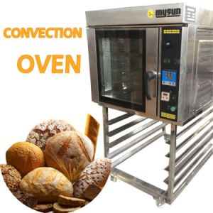 5 10 Trays Gas Electric Combi Steam Convection Oven with Stand or Proofer pictures & photos