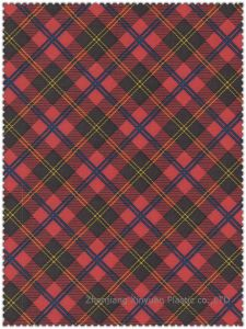 Printed PVC Coated Polyester Fabric - Scotland- 3004