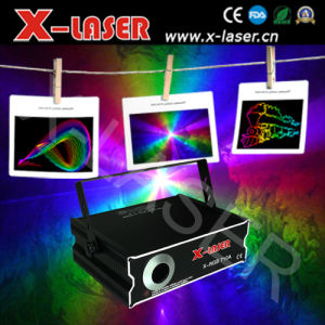 1W RGB Full Color Animation Laser Light Analog Modulation pictures & photos