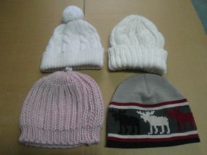 Children′s Knitted Caps Hats Kids Hats Clothing Fashion Acrylic Sets Export pictures & photos