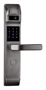 Brass House Code Lock and Fingerprint Door Lock pictures & photos