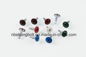 Modify Truss Head Self Drilling Screw with Zinc Black Phosphated pictures & photos