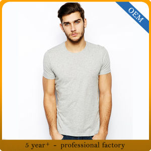 Factory Price Wholesale 65% Cotton 35% Polyester Cheap T Shirts pictures & photos