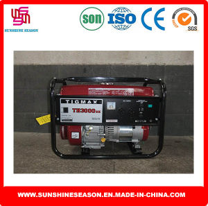 Tigmax Th3000dx Petrol Generato 2kw Key Start Gasoline Generator for Power Supply (ELEMAX FACE) pictures & photos