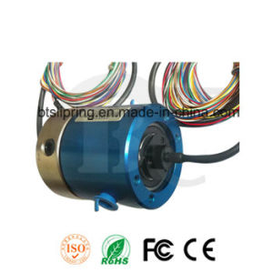 Dual Channels Pneumatic Rotary Joint Manufacturer with ISO/Ce/FCC/RoHS pictures & photos