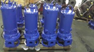 Electrical Vertical Submersible Sewage Centrifugal Pump pictures & photos