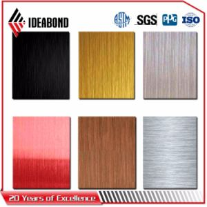 Sandwich Panel Ideabond Brushed Aluminum Composite Panel pictures & photos