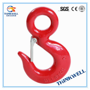 Forged Alloy/Carbon Steel S320 Eye Slip Hook with Latch pictures & photos